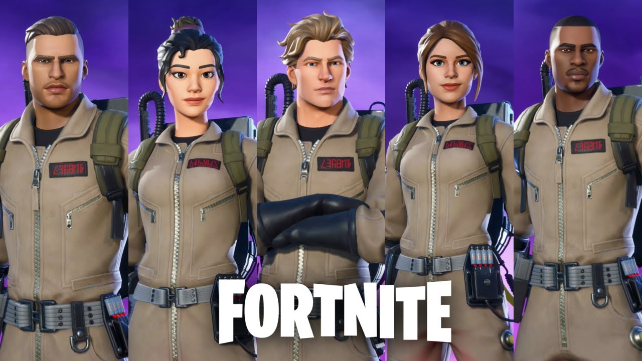 ghostbusters crossover brings feel good bustin to fortnite tweaktown ghostbusters crossover brings feel good
