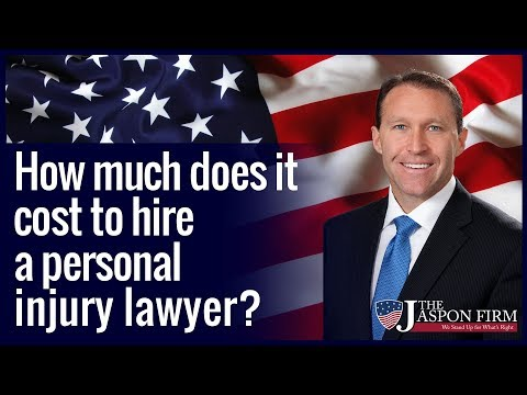 How much does it cost to hire a personal injury lawyer?  Orlando, FL Attorney