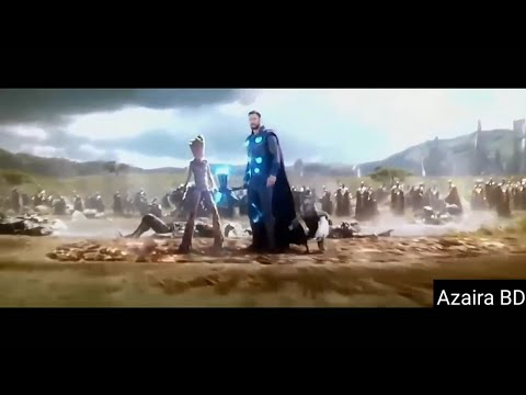Thor Arrives in Wakanda With Strombreaker - Bring me Thanos Scence || Infinity War