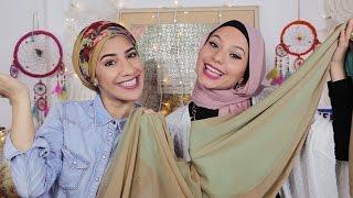 8  لفات حجاب مميزة للمرأة المغامرة مع هيفاء