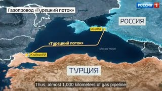 Russia's Gazprom begins offshore construction of Turkish Stream pipeline