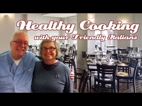 Food Talk with Chef Benjamin Bird .::. Healthy Cooking w/ your Friendly Italians #42