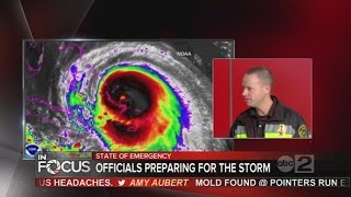 Maryland emergency officials prepare for Hurricane Joaquin