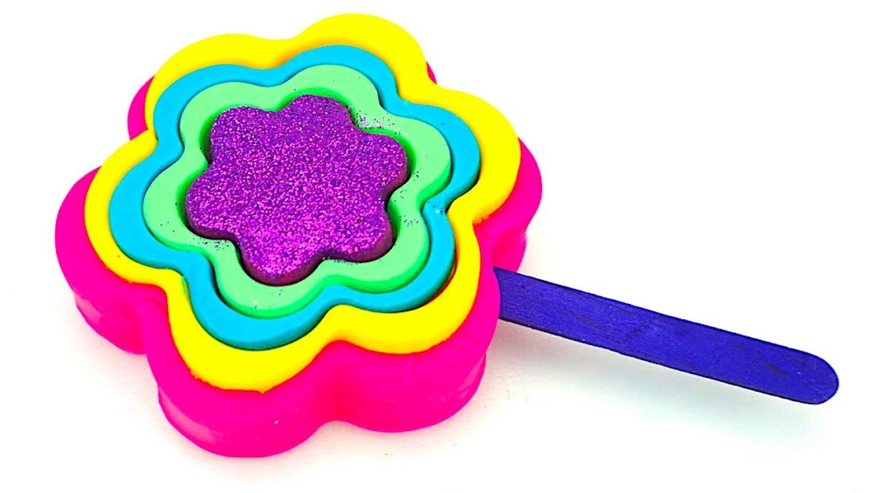 Лепим из пластилина Play Doh маленьких медвежат из детской .