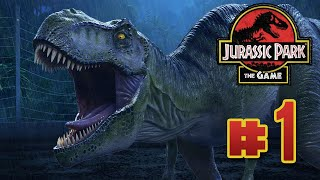 Disaster Park! : Jurassic Park The Game | Ep1
