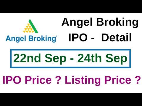 Angel Broking Ipo Detail Ttz Youtube