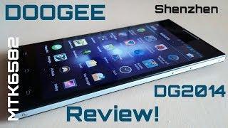 DOOGEE DG2014 MTK6582 1.3GHz 3G Dual Sim 6.3mm - Review!