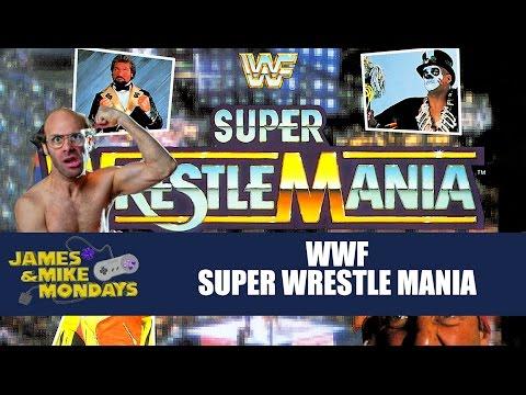 WWF Super WrestleMania (Sega Genesis) James & Mike Mondays
