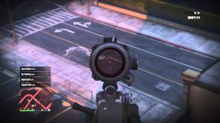 GTA 5 Online Lui Calibre's Solo Adventures #3 - Never According to Plan
