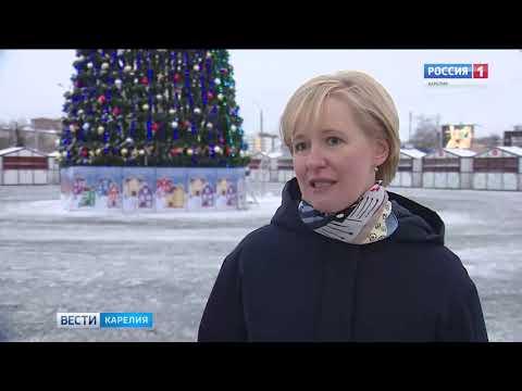 На Новый год в Петрозаводске установят около 700 декоративных конструкций