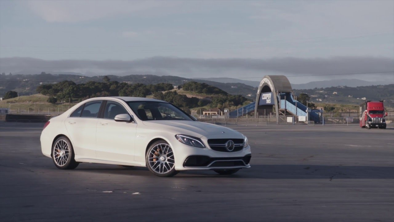 2016 Mercedes-Benz AMG C63 Sedan Quick Drive At Mazda ...