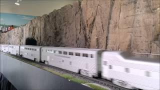 The Super Chief/El Capitan 3 Rail style