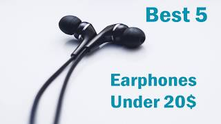 Video Best 5 earphones under 20$ from Aliexpress (Good quality earbuds from China) download MP3, 3GP, MP4, WEBM, AVI, FLV Agustus 2018