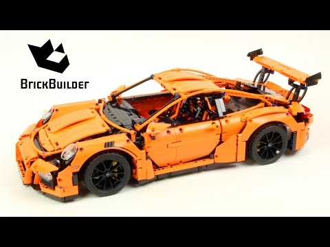Lego Technic 42056 Porsche 911 GT3 RS - Lego Speed build