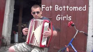 """Fat Bottomed Girls"" Queen / cover na akordeonie"