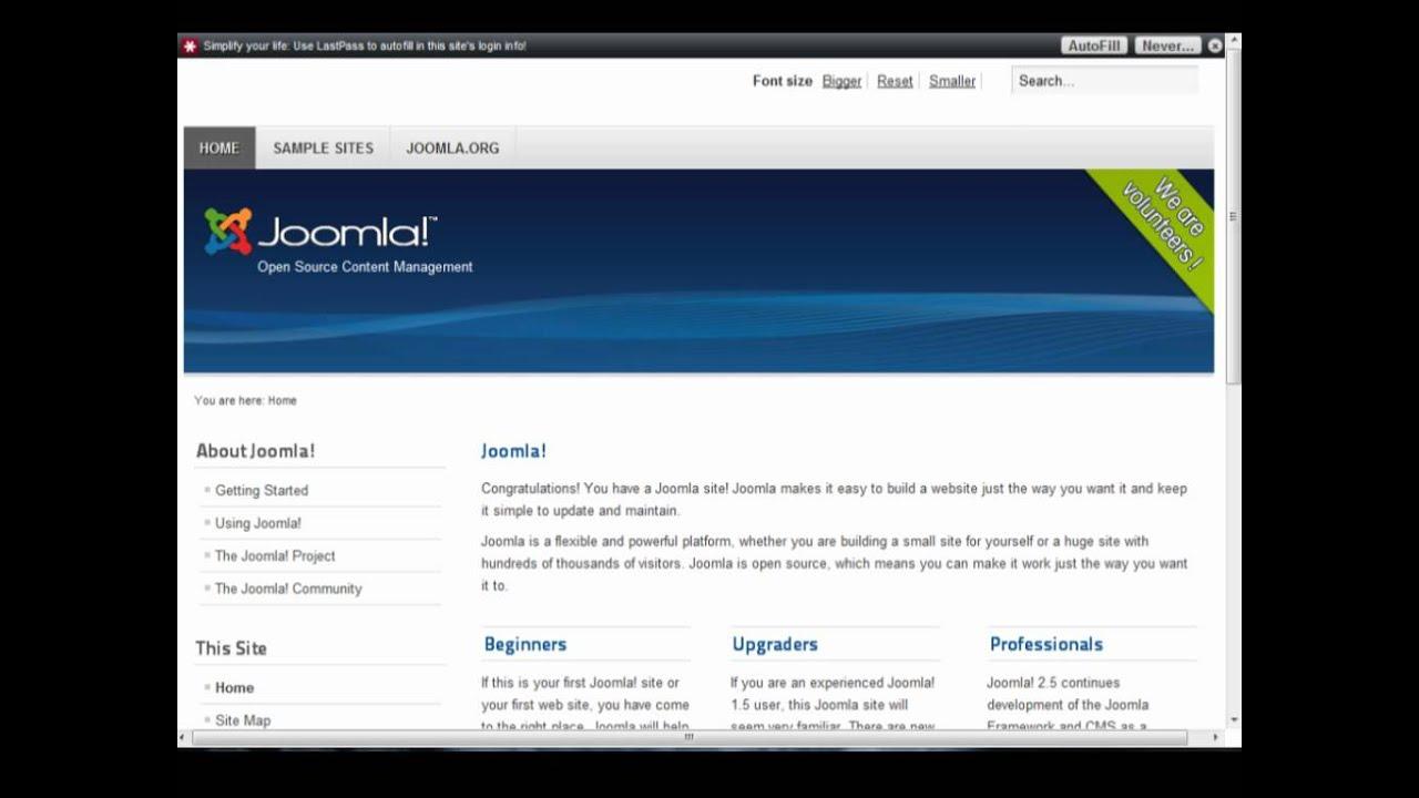 Joomla 2. 5 templates.