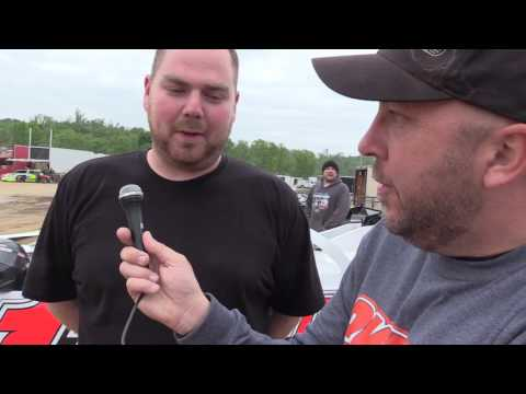 Driver Interviews from Midway Speedway on 5-12-17