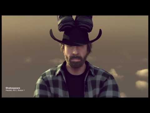 The Epic Split feat Chuck Norris vs Van Damme - Volvo ★ Merry Christmas!
