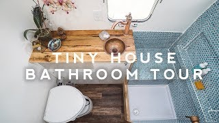 Tiny House Tour: Perfect Airstream Bathroom