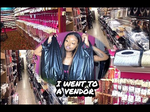 Entrepreneur Life Ep 1| GOING TO A VENDOR VLOG ! WHOLESALE ITEMS FOR THE  LOW !  | Ft Yolissa Hair