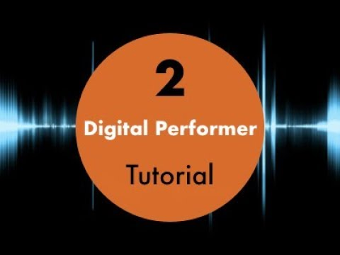 Digital Performer 10 for beginners #3 audio effects
