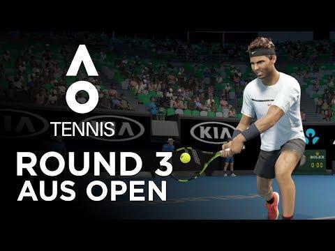 AO TENNIS | AUS OPEN ROUND 3 | NADAL vs THIEM