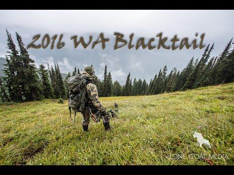 ShaneVG's 2016 Washington Wilderness Blacktail Deer Hunt
