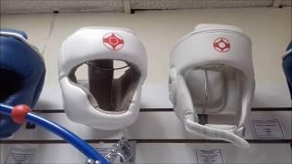 Шлем карате кекусинкай закрытого типа и открытого типа Aryan Sport