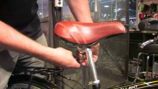 How to Change a Bicycle Saddle