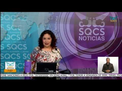 01-Diciembre-2020. SQCS Noticias Primera Emisión.