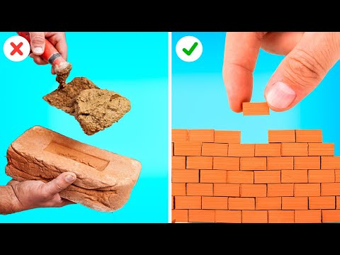20 AWESOME MINIATURE CRAFTS || Funny DIYs by 5-Minute DECOR