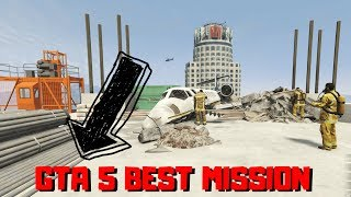 GTA 5 PLANE CRASH SCENE | BEST MISSION | GAMING WITH ROY