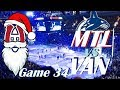 NHL - Montreal Canadiens at Vancouver Canucks - 100th NHL Anniversary - December 19, 2017
