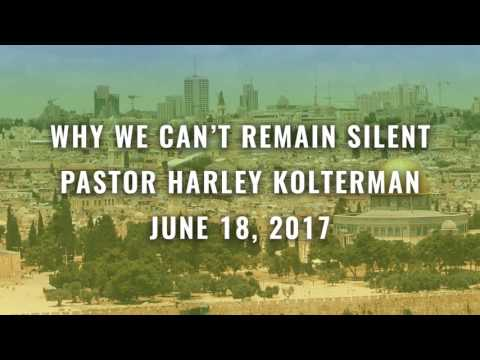 Why We Can't Remain Silent