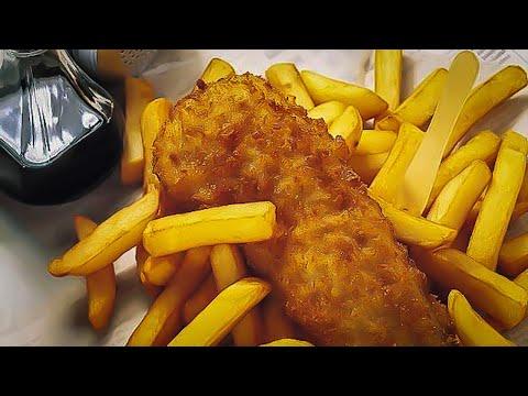 FISH N CHIP SHOP PLATTER CHALLENGE | BeardMeatsFood