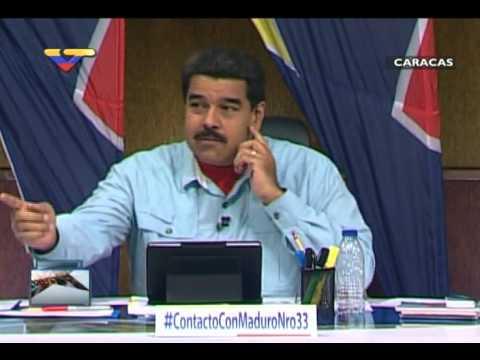 """Maduro presenta a comunicadores populares de """"Gente Chavista"""""""