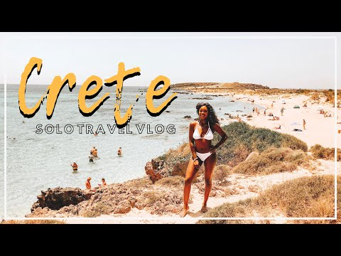 SOLO TRAVEL VLOG #3 | CHANIA, CRETE | 5 DAYS IN GREECE 2018