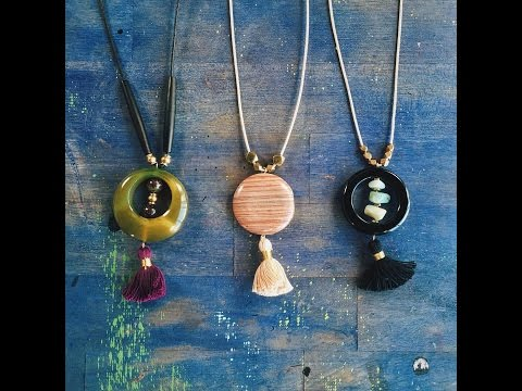 Make a Pendant Necklace
