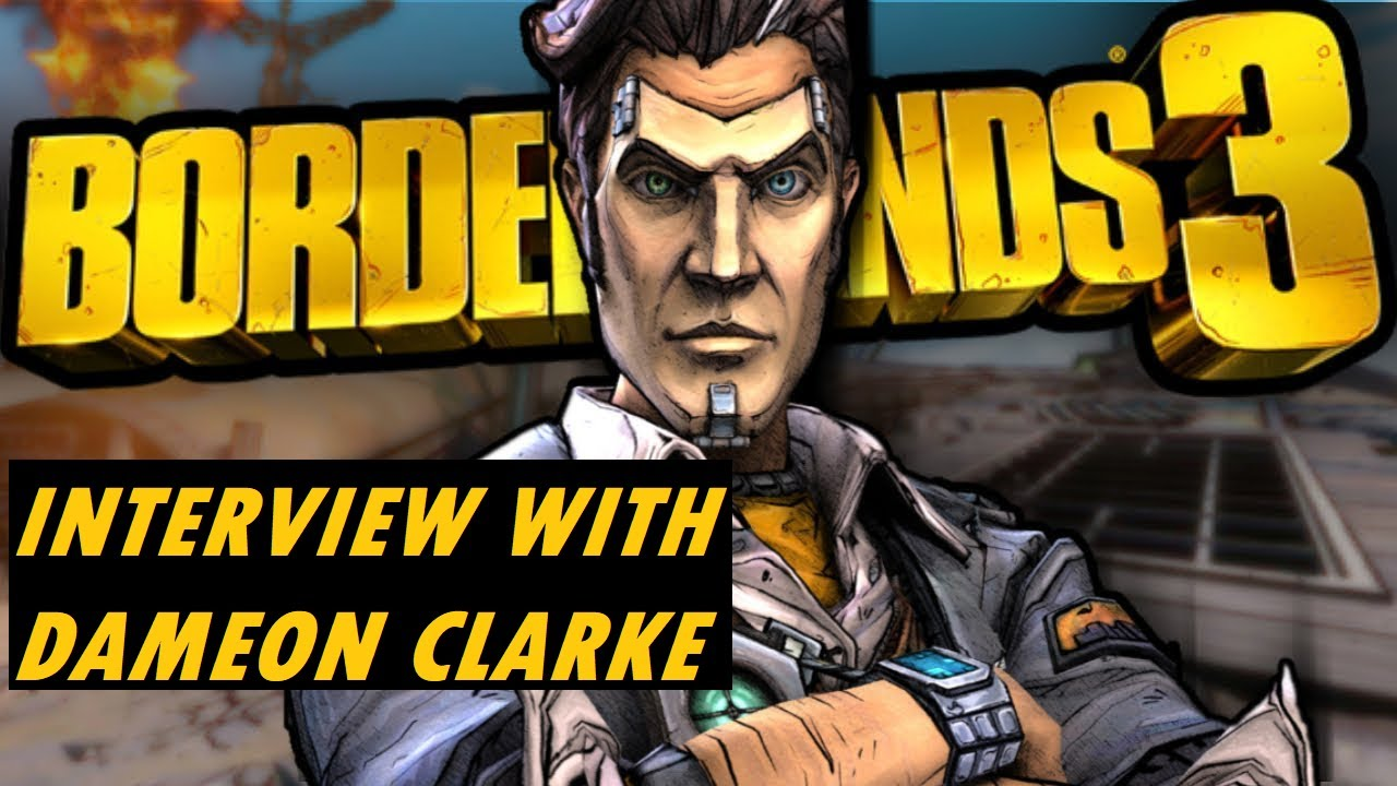 Borderlands 3 Handsome Jack Interview W Dameon Clarke About