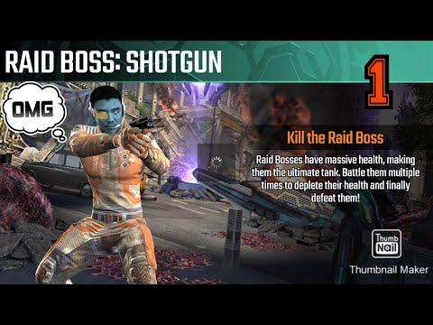 Raid Boss: Shotgun, Sniper strike special ops World Enders