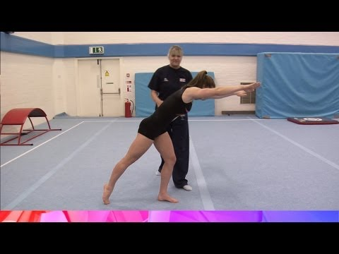 Round Off Progressions - Gymnastics