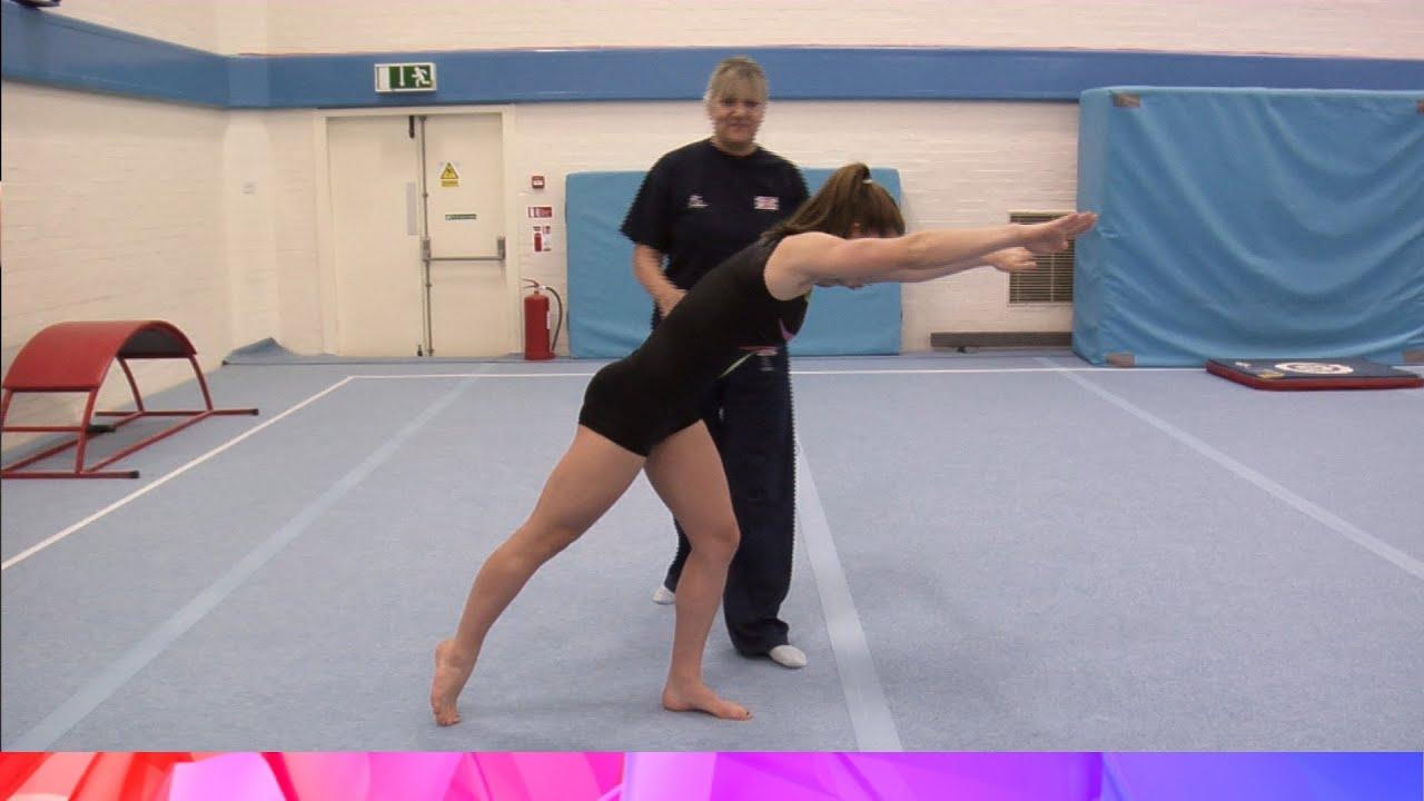 Round Off Progressions - Gymnastics
