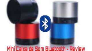 mini caixa de som bluetooth review