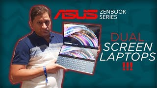 The Dual Screen Laptops By Asus | Intel i9 | 4K Display