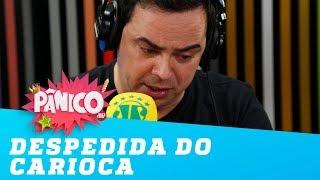 Carioca CHORA ao anunciar saída da Jovem Pan