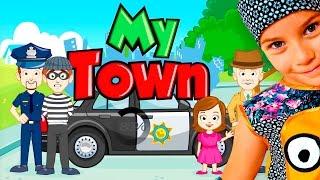 СМЕШНОЕ видео для ДЕТЕЙ Новый мультик ПРО ПОЛИЦИЮ детская игра My Town
