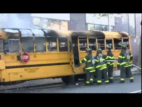 Arson Suspected in Crown Heights Bus Fire Outside Jewish School