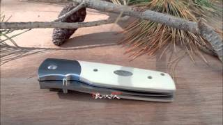 Fallkniven PXLim Ivory Micarta, Folding Knife