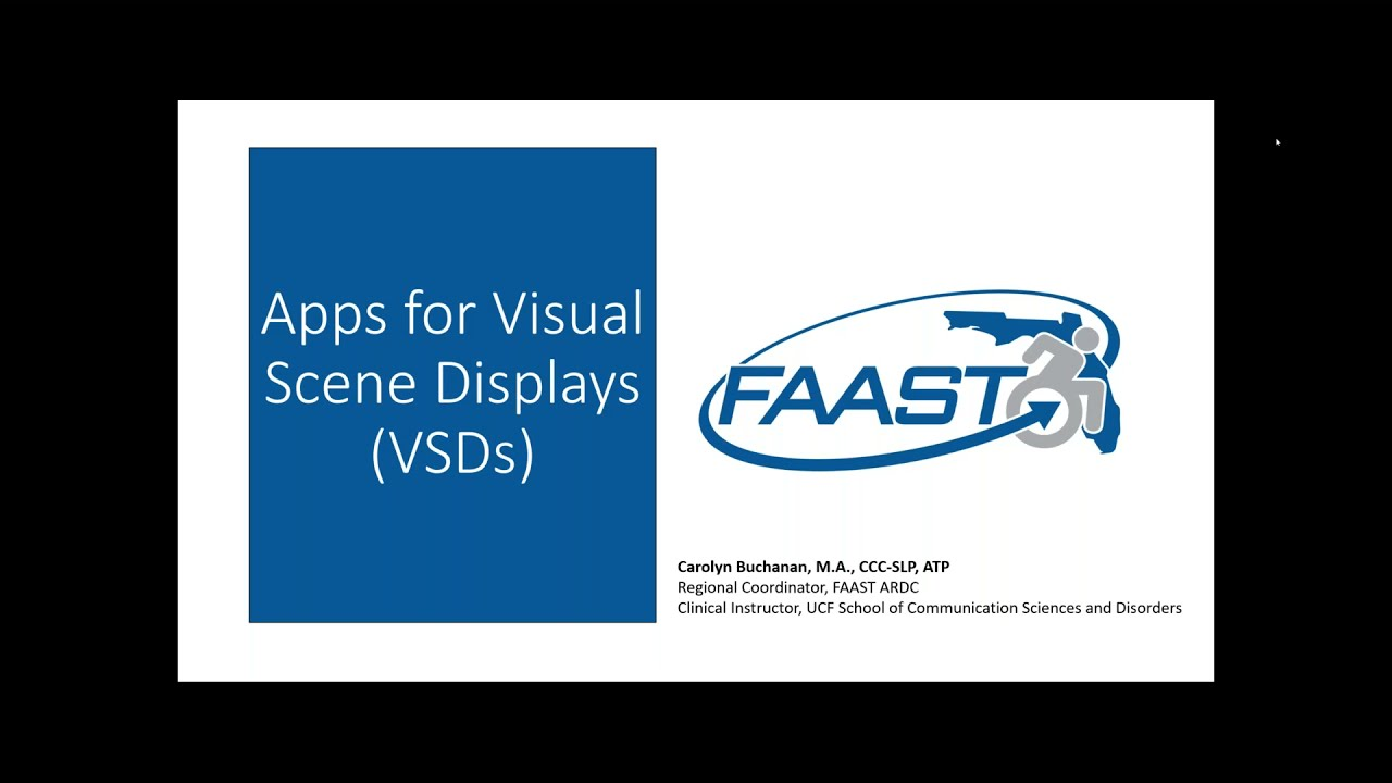 The benefits of visual scene display apps for people with AAC needs