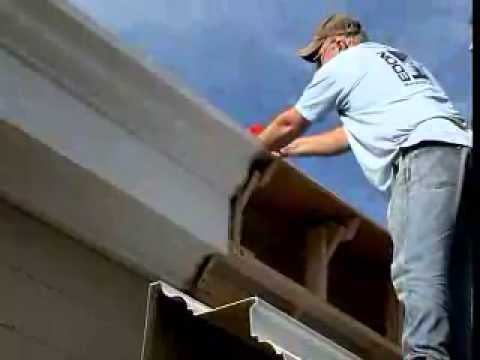 How do you install cornices?